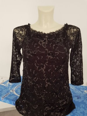 Ashley Brooke Short Sleeved Blouse black