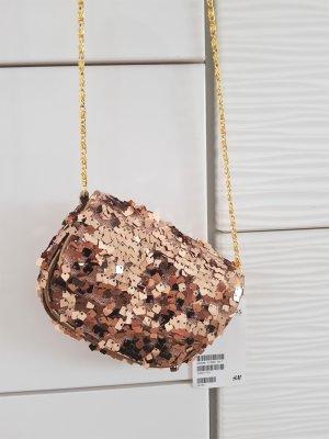 H&M Mini Bag gold-colored