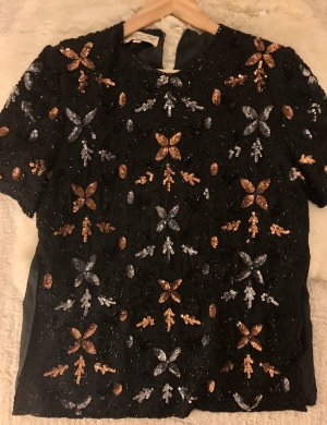 Pailletten verziertes Shirt