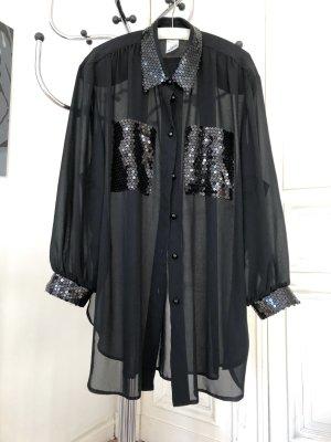 Boutique Ware Blouse met lange mouwen zwart