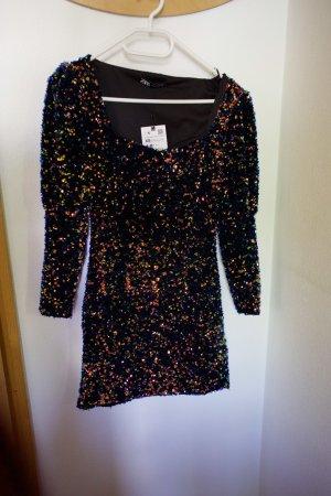 Zara Sequin Dress multicolored