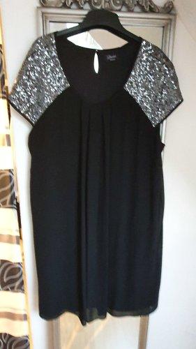 C&A Yessica Robe de soirée noir-argenté