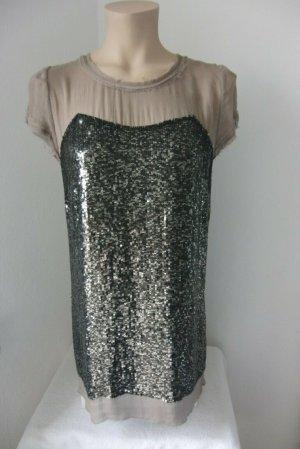 Paillettenkleid aus Seide von Hoss Intropia