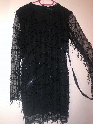 Pretty Little Things Sequin Dress black