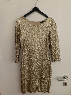 Paillettenkleid gold Gr. XS/S