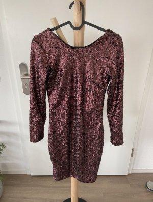H&M Robe à paillettes multicolore