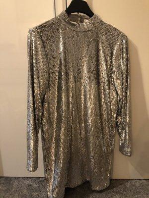 Samsøe & samsøe Sequin Dress silver-colored