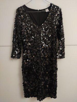 Bon Prix Cekinowa sukienka czarny