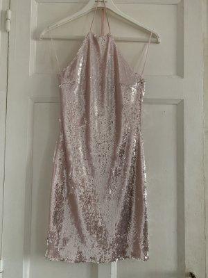 Paillettenkleid Topshop Rosa Gr. 36