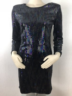 H&M Divided Sequin Dress multicolored polyester