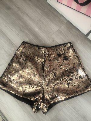 H&M Shorts color oro rosa