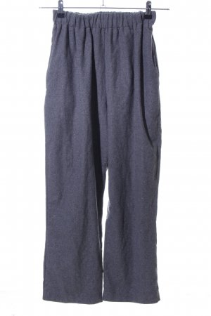 Paisie Pantalone di lana grigio chiaro puntinato stile casual
