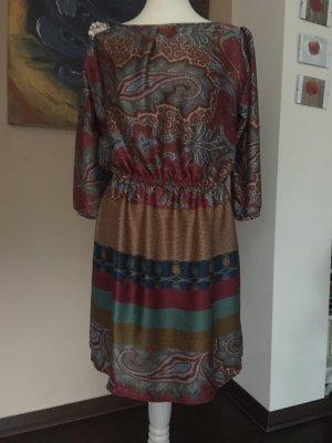 Paisleymuster Kleid