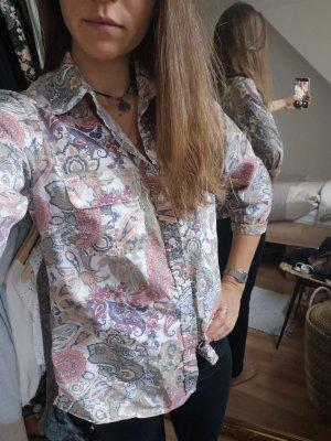 John Baner Blusa-camisa rosa-caqui