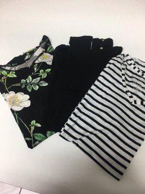 Paket mit 3 Oberteilen   Bekleidungspaket   H&M, Zara
