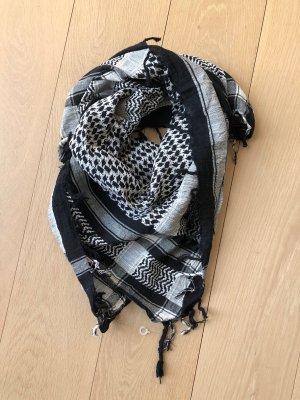 Palästinenser Tuch Schwarz  / Weiß *NEU*
