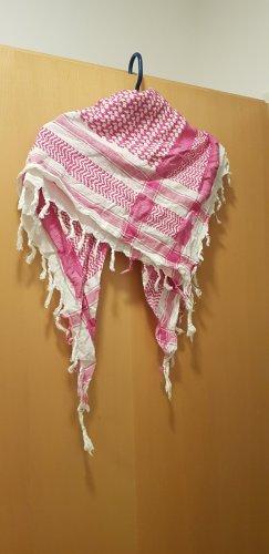 Tela palestino blanco-rosa