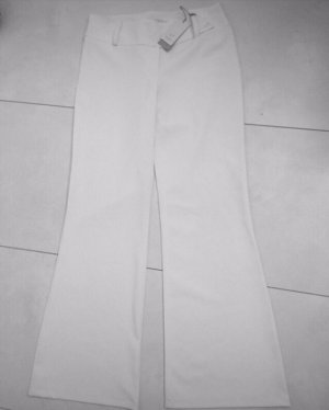 Pantalone palazzo crema