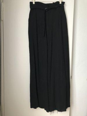 H&M Trend Pantalone palazzo nero Poliestere