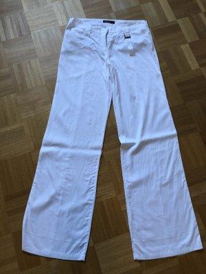 Marc Cain Pantalon à pinces blanc