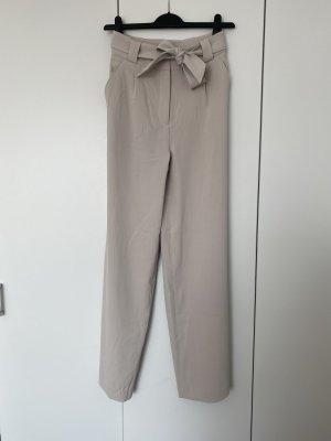 H&M Spodnie palazzo jasnobeżowy