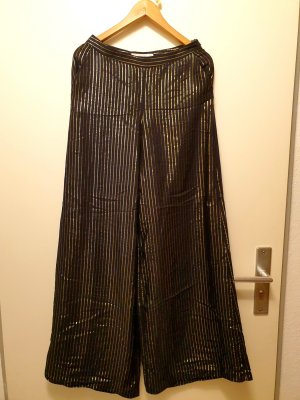 H&M Palazzo Pants black-gold-colored
