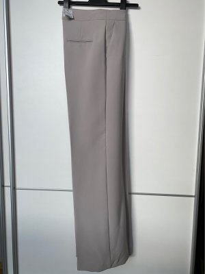 Mango Palazzo Pants light grey
