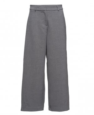 Selected Femme Palazzo Pants silver-colored