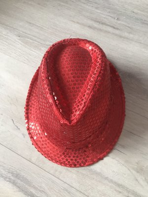 Panama Hat red