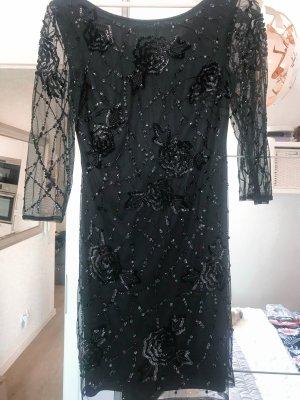 ✨ Palettenverziertes Abendkleid Schwarz