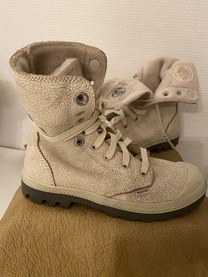 Palladium Boots Offwhite Gr. 38