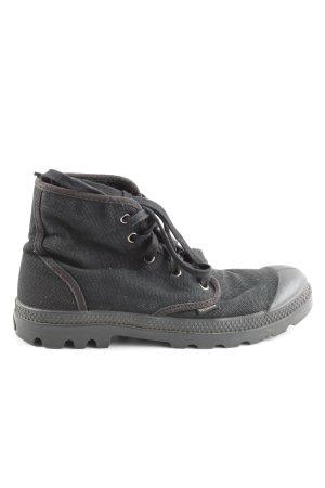 Palladium High Top Sneaker schwarz Casual-Look