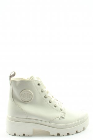 Palladium Aanrijg laarzen wit casual uitstraling