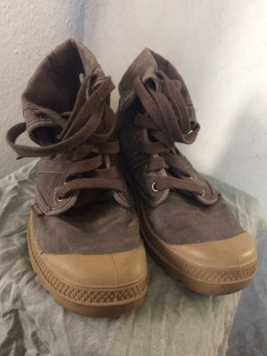 Palladium Chukka boot brun sable lin