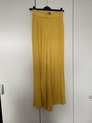 Zara Pantalone palazzo giallo