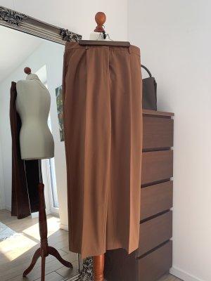 Donna by hallhuber Pantalon en laine cognac-brun