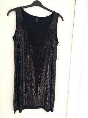 esprit collection Vestido de lentejuelas negro