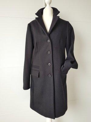 Palto Wollen jas zwart