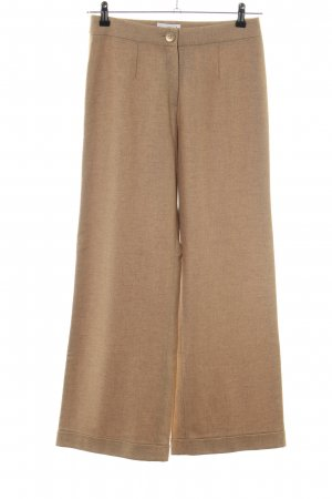 Palto Woolen Trousers nude flecked casual look