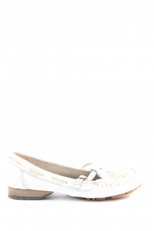 PAM Mary Jane Ballerinas white-bronze-colored casual look