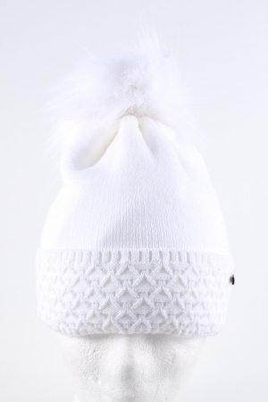 pamamí Bobble Hat white casual look