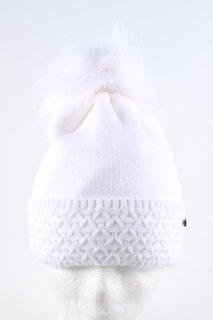 pamamí Cappello con pon pon bianco stile casual
