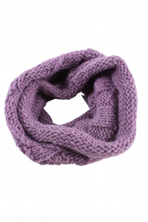 pamamí Snood lilac cable stitch casual look