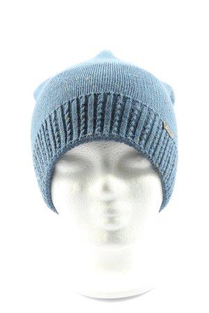 pamamí Sombrero de punto azul look casual