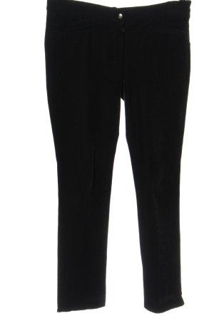 Pamela Henson Corduroy Trousers black casual look