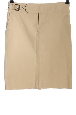 Pamela Henson Midi Skirt cream casual look