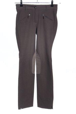 Pamela Henson Pantalone da equitazione marrone stile casual