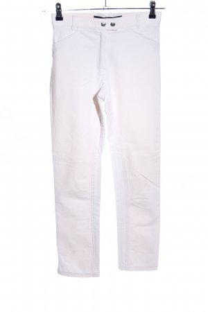 Pamela Henson Riding Trousers white casual look