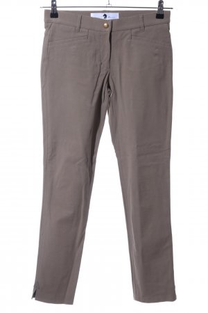Pamela Henson Pantalone da equitazione grigio chiaro stile casual