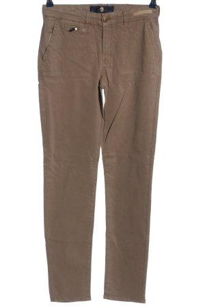 Pamela Henson Tube Jeans brown casual look